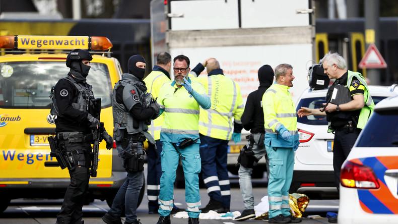 LIVE: Anti-Terror-Einsatz nach Schießerei in Utrecht – Täter flüchtig
