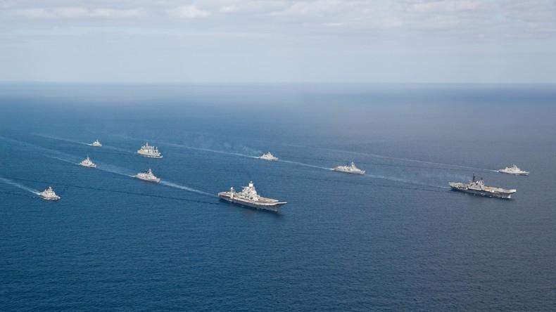 Abschreckung gegenüber Pakistan: Indische Marine entsendet Flugzeugträger und Atom-U-Boote
