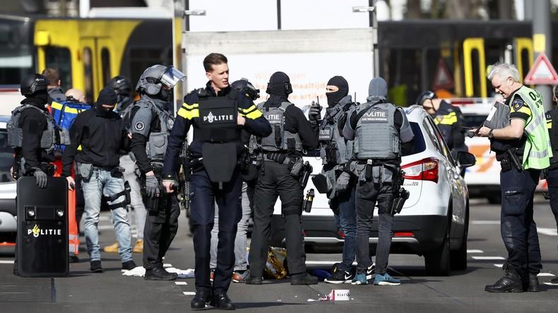Attentat in Utrecht: 37-jähriger Verdächtiger verhaftet