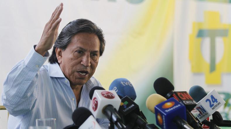 Perus geflüchteter Ex-Präsident Toledo in USA betrunken festgenommen