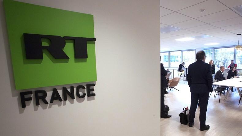 RT France erstattet Anzeige bei Polizei nach Beleidigungen und Drohungen an Journalisten