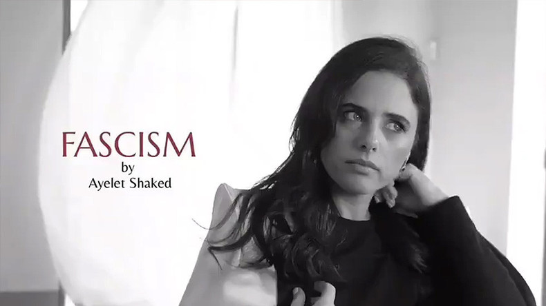 Faschismus No. 5: Israelische Justizministerin auf Abwegen