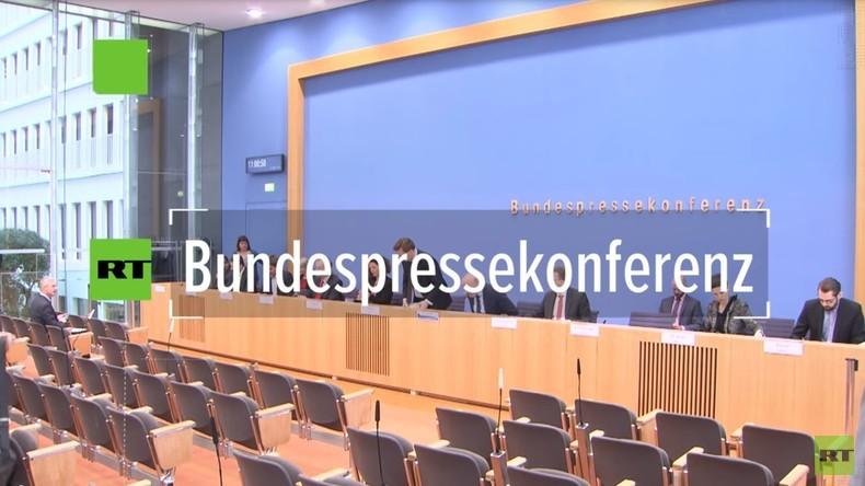 Bundespressekonferenz: Regierungssprecher Seibert zur Eskalation der Gelbwestenproteste
