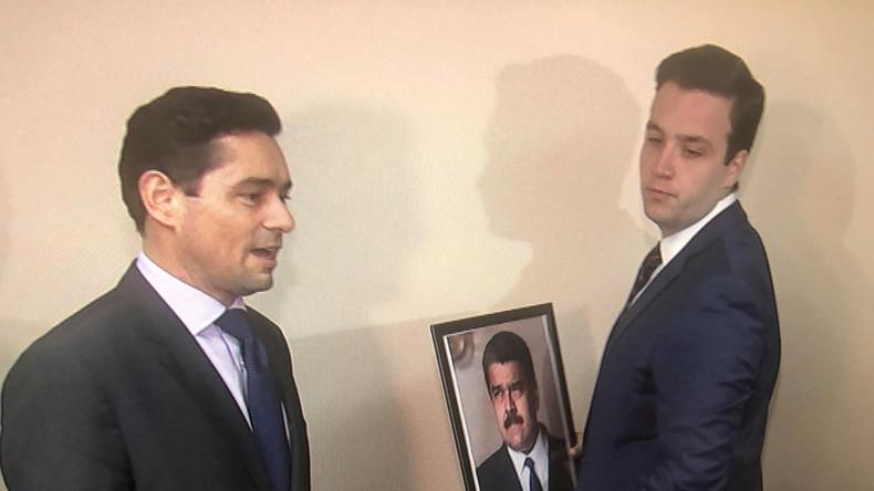 Venezolanische Opposition übernimmt diplomatische Vertretungen in den USA (Video)