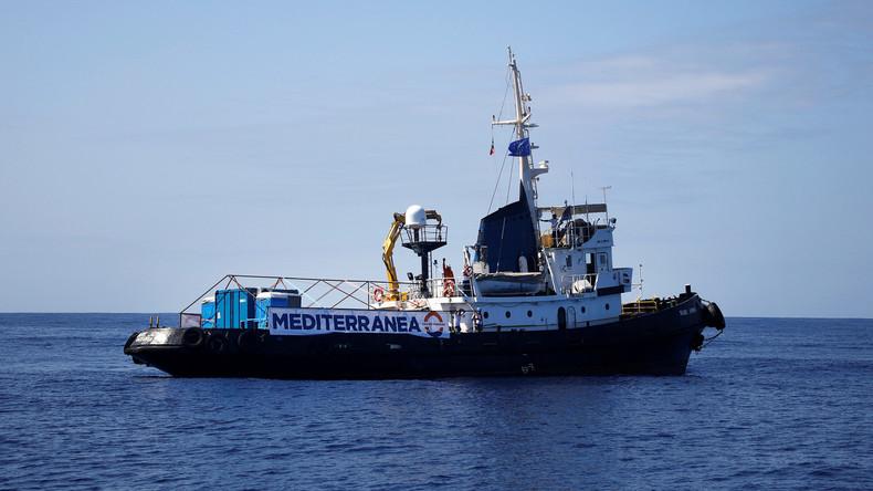 Rettungsschiff mit Migranten: Italien beschlagnahmt die
