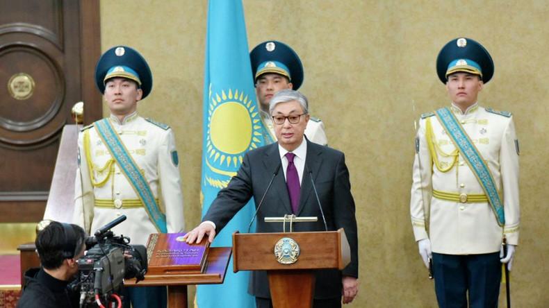 Qassym-Schomart Toqajew als Kasachstans Präsident vereidigt