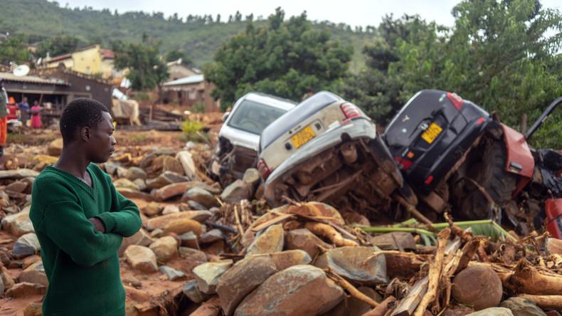 Mosambik erklärt wegen Überschwemmungen nach Zyklon den Notstand
