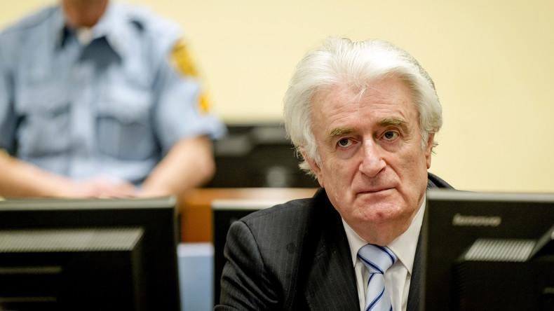 UN-Tribunal: Lebenslange Haft für Ex-Serbenführer Karadžić wegen Srebrenica