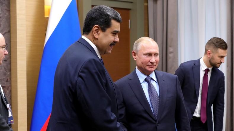 """Moskau: US-""""Hilfe"""" für Venezuela inakzeptabel – Russland wird eigene Interessen schützen"""