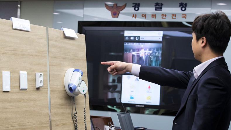Mehr als 1.600 Hotelgäste in Südkorea mit versteckten Porno-Kameras gefilmt