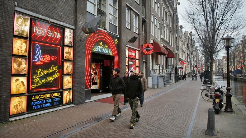 Amsterdam verbietet Führungen im Rotlichtviertel