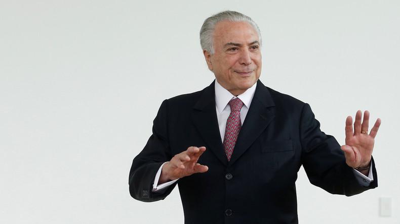 Brasiliens Ex-Präsident Temer unter Korruptionsvorwürfen verhaftet