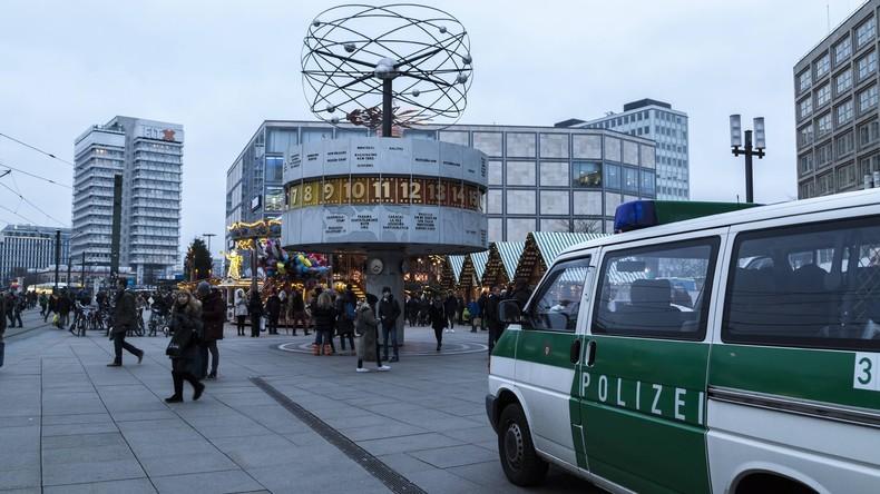Massenschlägerei auf Berliner Alexanderplatz – rund 50 Beteiligte, neun Festnahmen