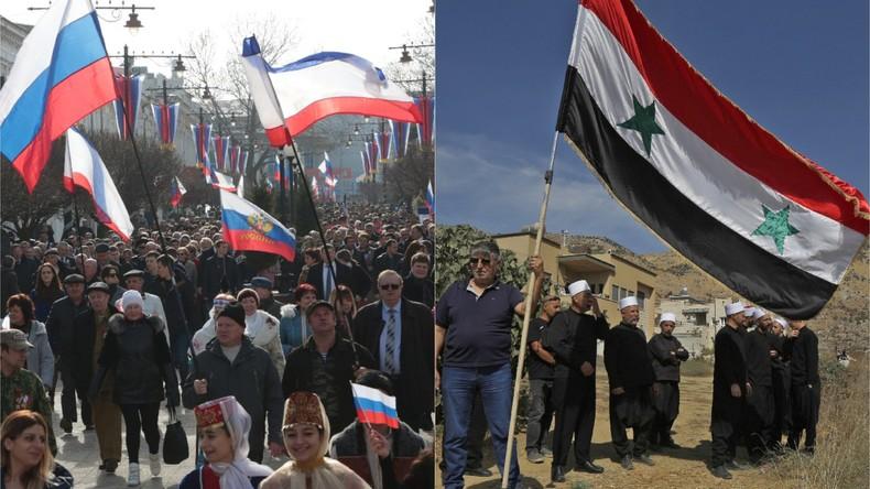 Golanhöhen und Krim: Gute Annexion vs. Schlechte Annexion