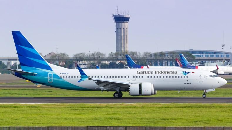 Indonesien sagt Bestellung von 49 Boeing 737 MAX ab