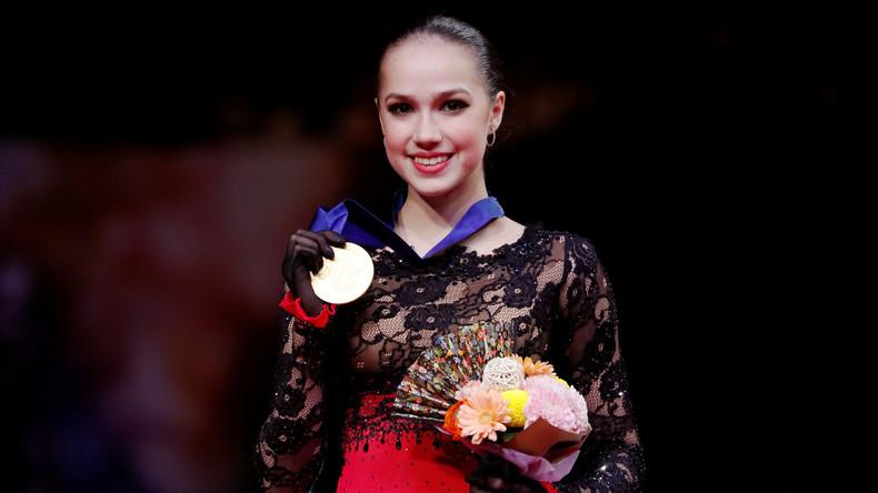 Alina Sagitowa neue Eiskunstlauf-Weltmeisterin 2019