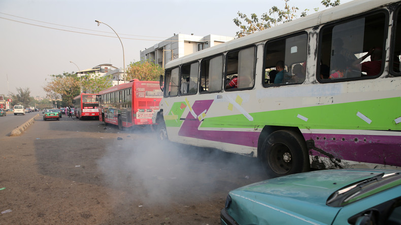 Zwei Busse kollidieren in Ghana – mindestens 60 Tote