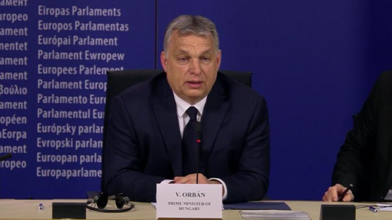 """Orban zu EVP-Ausschluss: """"Wir wollten nur über George Soros Pläne zur Machtuntergrabung informieren"""""""