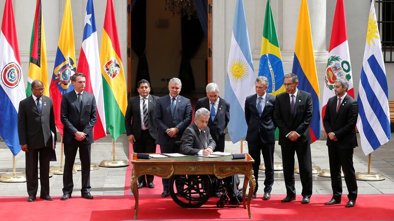 Acht südamerikanische Staaten gründen neuen Regionalbund