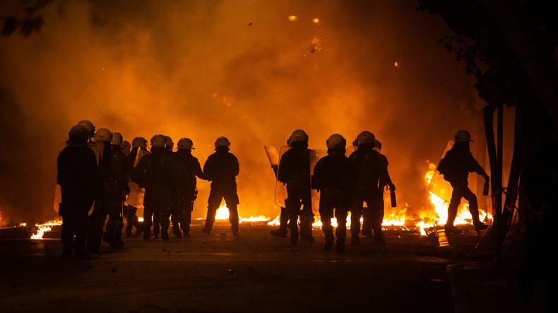 Erneut Chaosnacht im Athener Autonomenviertel Exarchia