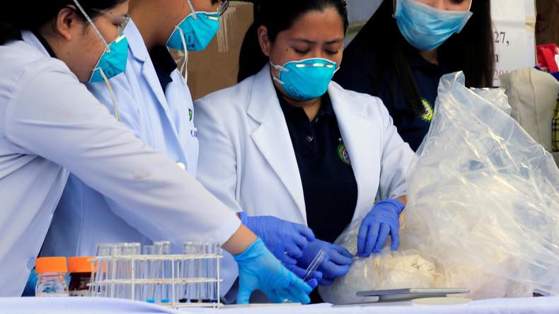Philippinischer Zoll findet Hunderte Kilogramm Drogen in Schiffscontainer