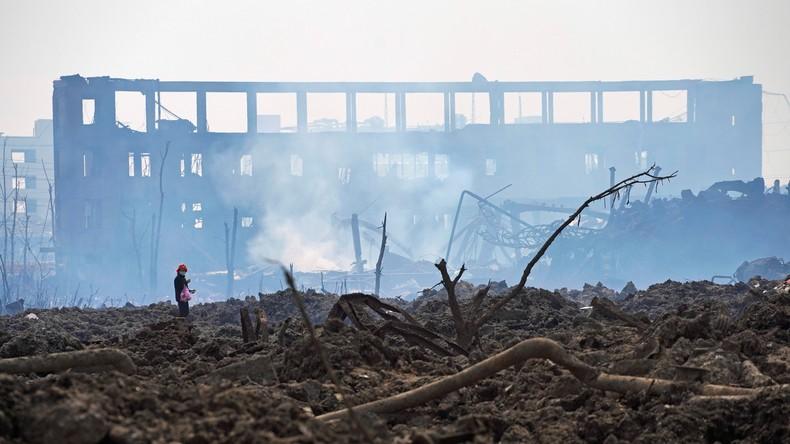 China: Totenzahl nach Explosion in Chemiewerk steigt auf 64