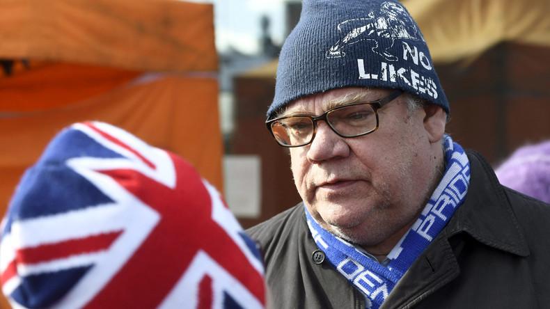 Versuchter Angriff auf Finnlands Außenminister bei Wahlkampfveranstaltung in Vantaa