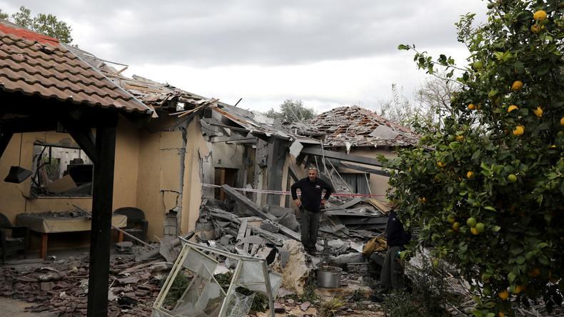 Haus in Israel von Rakete getroffen - Netanjahu verkürzt US-Reise