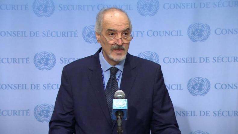 """Syriens UN-Botschafter: """"USA sind der Hauptfaktor für Spannungen und Untergrabung des Friedens"""""""