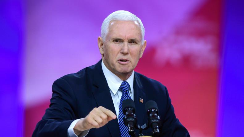 US-Vize Pence: Trump wird heute israelische Souveränität über Golan anerkennen