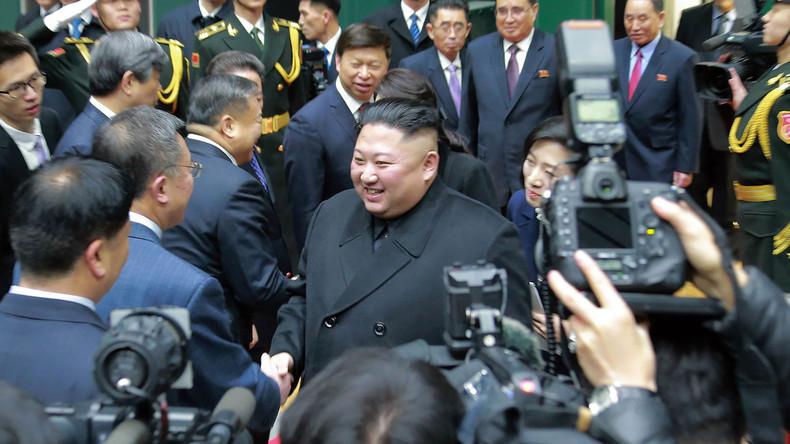 Persönlicher Fotograf von Kim Jong-un wegen zu naher Aufnahmen des Staatschefs entlassen