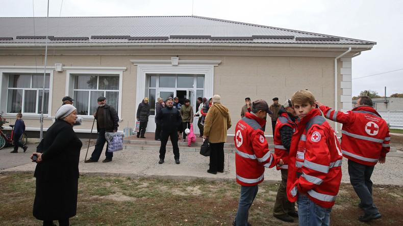 Deutschland stellt 1,8 Mio. Euro für humanitäre Hilfe des Roten Kreuzes in der Ukraine bereit