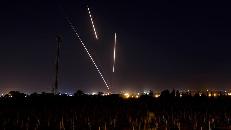Militante Palästinenser feuern weiter Raketen – Israel reagiert mit Luftangriffen