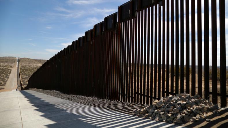 Pentagon gibt eine Milliarde Dollar zur Sicherung der Grenze zu Mexiko