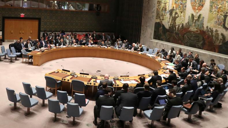 LIVE: UN-Sicherheitsrat diskutiert Situation in Palästina