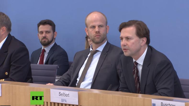 """Bundespressekonferenz: Regierungssprecher Steffen Seibert und der """"Staatsfunk"""""""