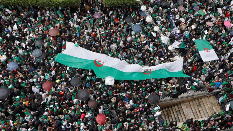 Algerisches Militär fordert Absetzung von Präsident Bouteflika