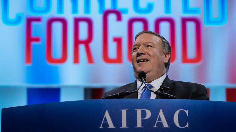 """Mike Pompeo: """"Wir müssen den Antisemiten im Iran entgegentreten"""""""