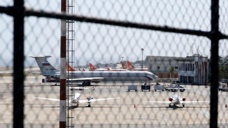 US-Außenministerium und Mainstream außer sich: Zwei russische Militärflugzeuge landen in Venezuela