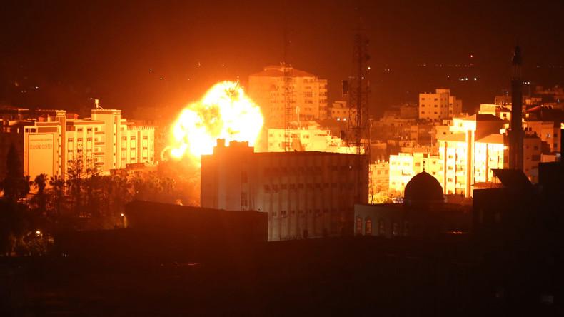 Israels Luftwaffe greift erneut Ziele im Gazastreifen an