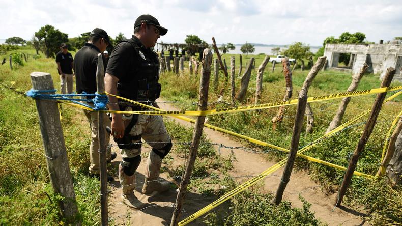 Mindestens 15 Tote in verborgenen Gräbern in Mexiko gefunden