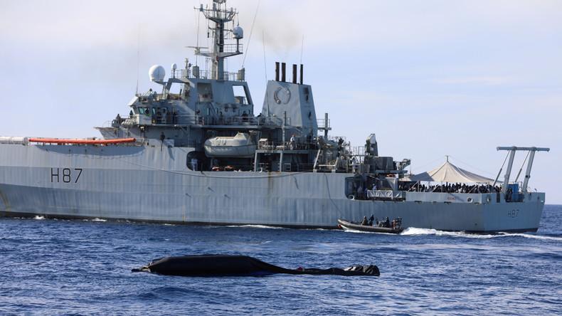EU setzt Rettungseinsatz für Flüchtlinge vor Libyens Küste aus