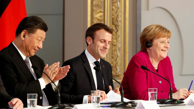LIVE: Gemeinsame Presseerklärung der deutschen und französischen Außenminister Maas und Le Drian