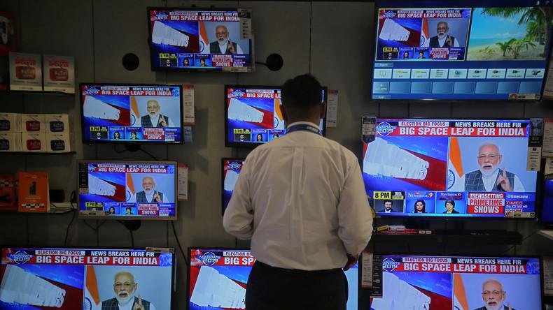 Indien verkündet Test-Abschuss eines Satelliten