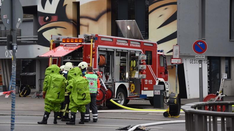 Verletzte nach Ammoniak-Austritt an Eisstadion - Schule evakuiert
