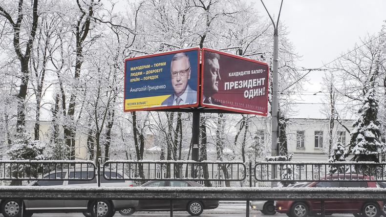 Präsidentschaftswahlen in Ukraine - zwischen Lachen und Weinen (Video)