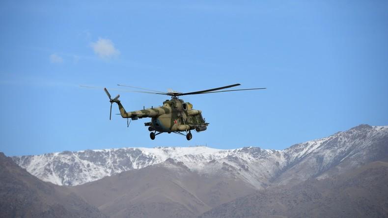13 Menschen sterben bei Hubschrauberabsturz in Kasachstan