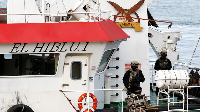 Maltas Armee übernimmt Kontrolle über Handelsschiff mit Migranten
