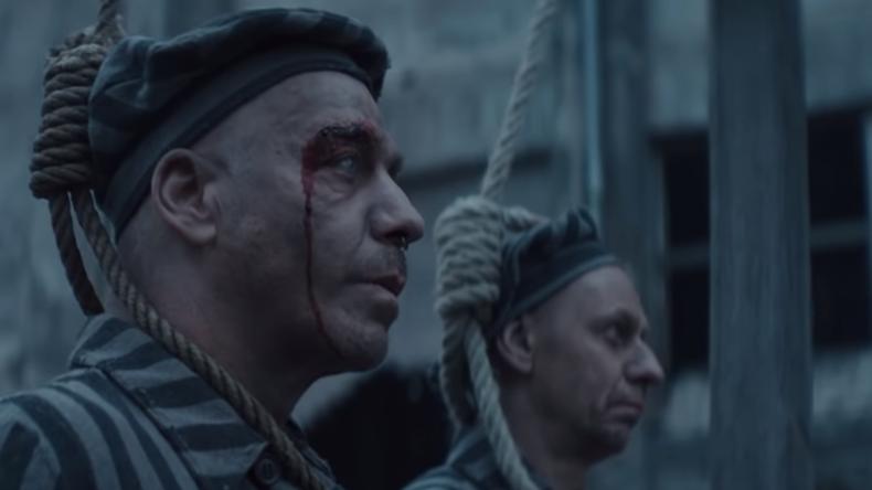 Schlinge um Hals und Judenstern: Rammstein bewirbt neues Album mit KZ-Video