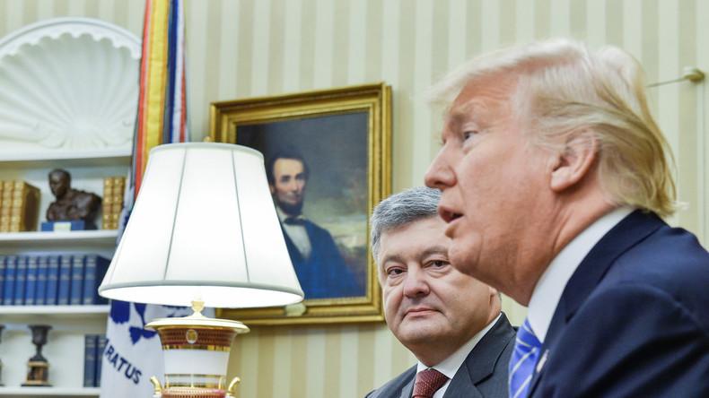 Fake News? BBC entschuldigt sich bei Poroschenko für Nachricht über bezahltes Trump-Treffen